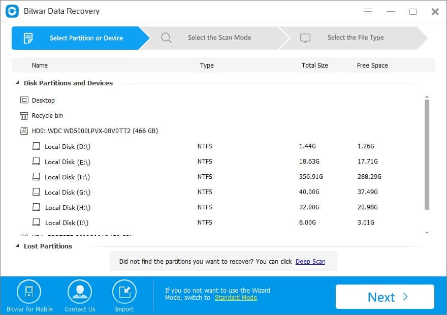 Data recovery software free download full version with register.