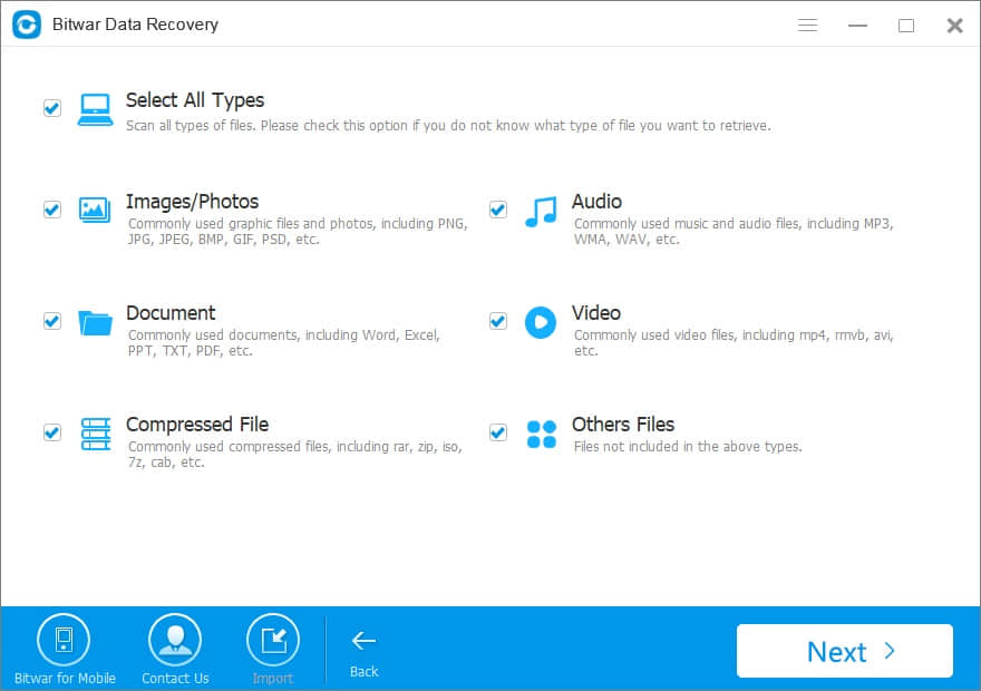windows 7 USB data recovery software
